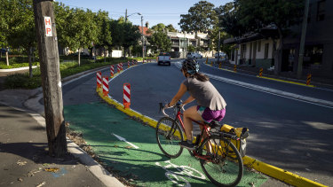 An independent safety audit commissioned by Transport for NSW found safety issues on the Bridge Road cycleway in Glebe.