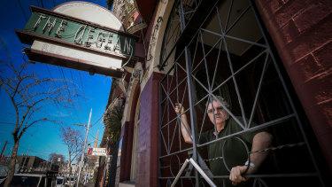 Michael Glynatsis, owner of the Aegean Greek Restaurant in Fitzroy.