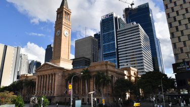 Brisbane City Hall will have a new council next week.