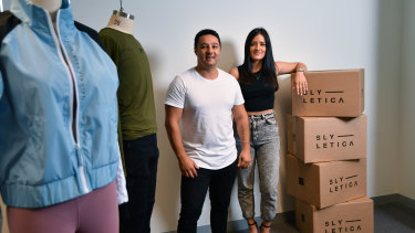 Simon and Yetta Rawadi ensure each influencer's clothing collection is different.