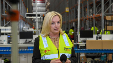 Australia Post chief executive Christine Holgate has been lashed by a Senate committee.