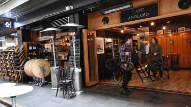 Cafes and restaurants around the country closed their doors in March due to the coronavirus.
