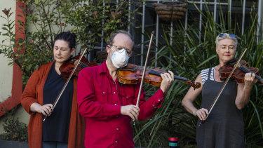 Playing on: The Opera Australia orchestra.