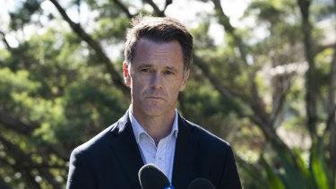 NSW Labor MP Chris Minns on Wednesday.