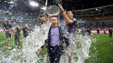 Craig Bellamy has had unparalleled success at the Storm.