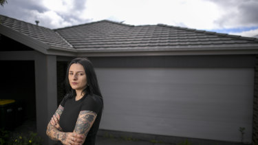 Natalie Smith wants to move out of her four-bedroom rental in Mernda.