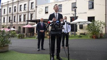 Premier Dominic Perrottet on Thursday.