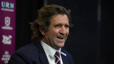 You cannot lose if you do not play ... Manly Sea Eagles coach Des Hasler.