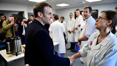 Coronavirus You Failed Us Angry French Medics Tell Macron