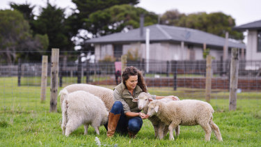 Katie Lamaro owner of Five Acres farm stay on Phillip Island is excited to welcome back visitors.