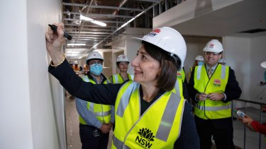 Premier Gladys Berejiklian said the funding boost will cement NSW as the best place to do business in Australia.