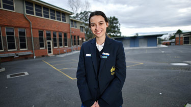Year 11 student Wren Gillett thinks careers education is offered too late in Victorian schools
