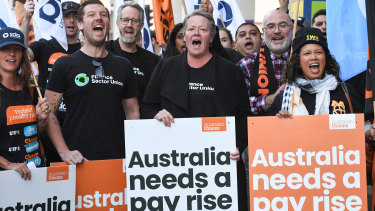 The ACTU has poured millions of dollars into its campaign to throw out the Morrison government and change Australia's workplace laws.