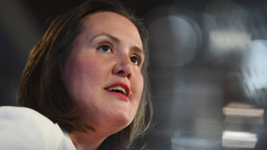 Industrial Relations Minister Kelly O'Dwyer has highlighted Labor's record on the gender pay gap.