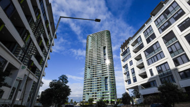 Opal Tower was built on government-owned land at Sydney Olympic Park.
