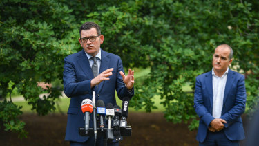 Premier Daniel Andrews on Thursday.