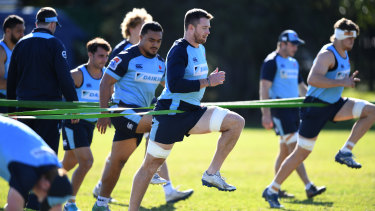 No fear: Jed Holloway says the Waratahs' lineout has its own strengths.