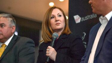 Adele Ferguson hosting an event for whistleblowers in June.