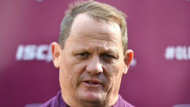 'I'm not sure sitting in front of a poker machine is in any way going to help you the next day,' said Queensland coach Kevin Walters.