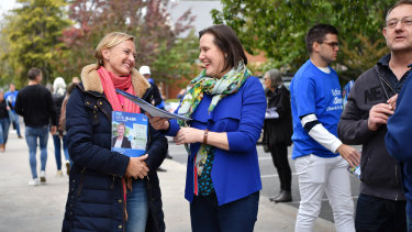 Liberal candidate Katie Allen and former Higgins MP Kelly O'Dwyer will join health minister Greg Hunt to make the announcement on Wednesday.