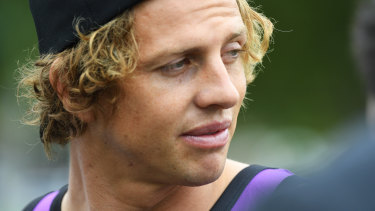 Positive outlook: Nat Fyfe says Fremantle will be more attacking this season.