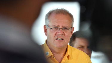 Prime Minister Scott Morrison has launched a fresh attack on GetUp.