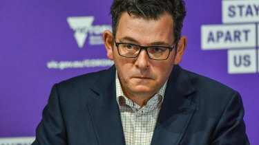 """Daniel Andrews: """"It's just a matter of dealing with the facts."""""""