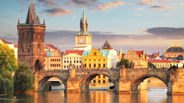 Charles Bridge, Prague: The Czech economy is flying and unemployment is low.