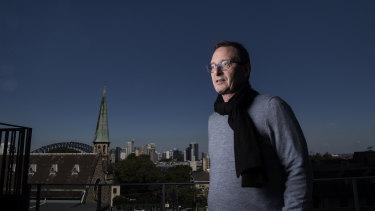Associate Professor Mark Dean mistook his flu symptoms for an asthma flare-up.