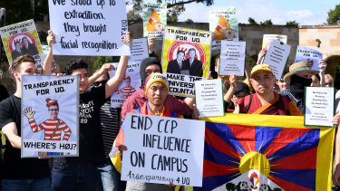 There have been multiple events at the University of Queensland in support of ongoing protests in Hong Kong.