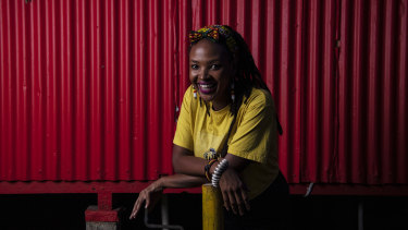 """Musician Gladys Namokoyi said people in Sydney were """"hungry"""" for more creative nightlife options."""