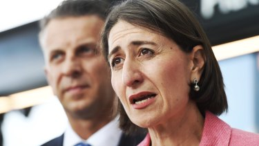 Premier Gladys Berejiklian accused Labor leader Michael Daley of being hypocritical.
