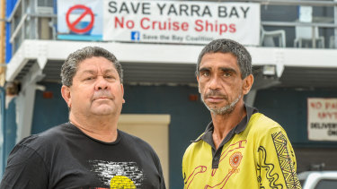 Mr Walker and Mr Ella will hold a fishing day at Yarra Bay on Saturday.