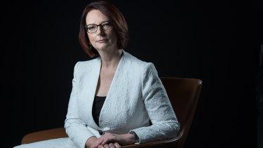 Former Australian prime minister Julia Gillard.