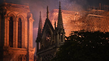 The fire at Notre Dame is now under control.