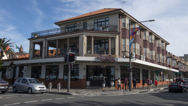The Coogee Bay Hotel is a local landmark, just across the road from the suburb's popular beach and promenade.