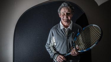 Reid Tennis Club president Terry Walker.