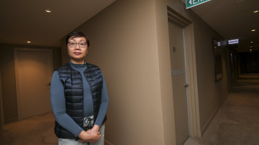 Accountant Lenna Tye bought in Freshwater Place for the security.
