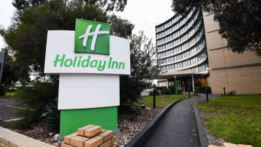 A returned traveller was publicly blamed for spreading coronavirus through the Holiday Inn quarantine hotel by using a nebuliser.