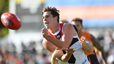 Jack Steele suffered a leg injury at training on Thursday.