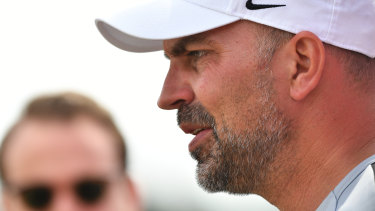 I'm the man: Markus Babbel insists the Wanderers are still behind him as coach.