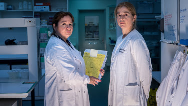 Dr Dadna Hartman and Dr Soren Blau.