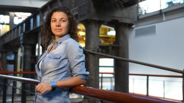 Anastasia Volkova, co-founder and chief executive of FluroSat an aerial and satellite imaging startup.