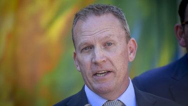 Cricket Australia chief Kevin Roberts.