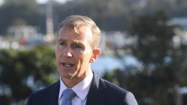 Planning and Public Spaces Minister Rob Stokes released a draft strategy for Pyrmont on Friday.
