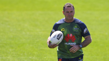 Raiders coach Ricky Stuart wants to repay the faith shown to him by the Raiders board.