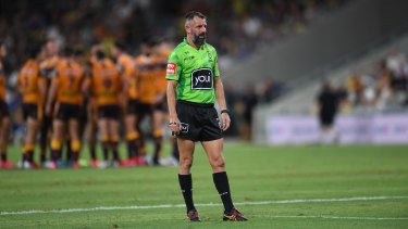 NRL referee Gavin Badger has not been offered a contract for 2021.