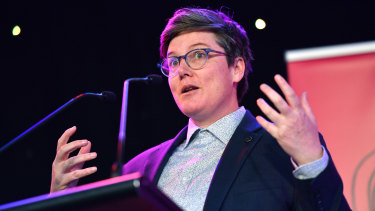Comedian Hannah Gadsby was nominated was nominated in two categories for her Netflix special Douglas.