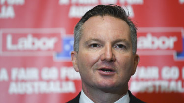 Shadow treasurer Chris Bowen says other countries operate with an excess franking credit policy without trouble.
