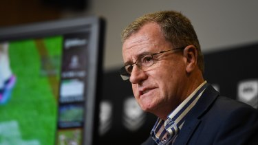 NRL head of football Graham Annesley says the six-again rules won't be revisited until the end of the year.